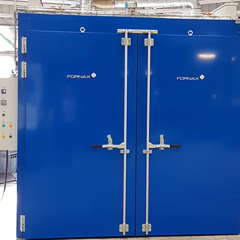 This Fornax T 7000 oven is for heat treatment of composite parts.